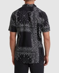 2 Yari Short Sleeve Shirt Black R315184 RVCA