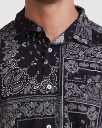 3 Yari Short Sleeve Shirt Black R315184 RVCA