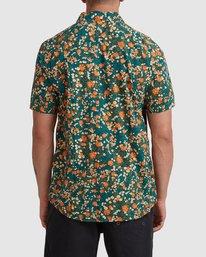 2 Baritone Short Sleeve Shirt Orange R315188 RVCA