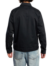 2 Day Shift Jacket Black R315434 RVCA