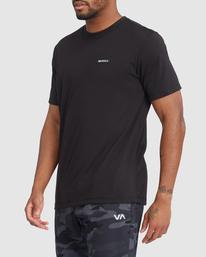 1 VA Sport | Icon Workout Shirt Black R317068 RVCA