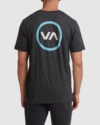 2 VA Mod Short Sleeve Tee Black R317085 RVCA