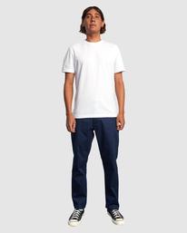 4 NEW DAWN MODERN STRAIGHT FIT PANT Blue R317271 RVCA