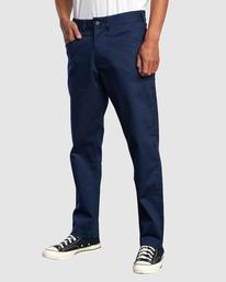 0 NEW DAWN MODERN STRAIGHT FIT PANT Blue R317271 RVCA