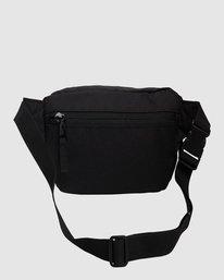 3 RVCA Waist Pack II Black R317601 RVCA