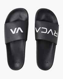 0 RVCA Sport Slide Black R317610 RVCA