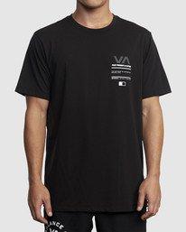 0 Reflective RVCA Balance Box Short Sleeve Tee Black R318043 RVCA