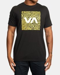 0 VA BOX FILL SHORT SLEEVE TEE Black R318044 RVCA
