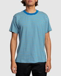 0 PIT STOP CREW SHORT SLEEVE TEE Green R318048 RVCA