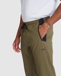 3 YOGGER STRETCH TRACK PANT Green R318272 RVCA