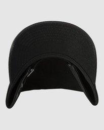3 TRIPPY DANA CLASPBACK CAP Black R318561 RVCA