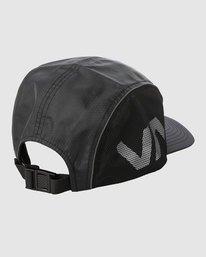 1 HEXSTOP CAP Black R318565 RVCA