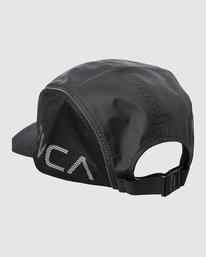 2 HEXSTOP CAP Black R318565 RVCA