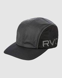 0 HEXSTOP CAP Black R318565 RVCA