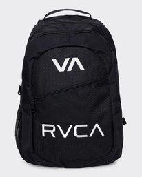 0 RVCA Pack IV Backpack Black R332452 RVCA
