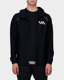 0 Grappler Jacket Black R371437 RVCA