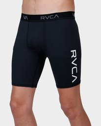 0 Va Sport Compression Short Black R371921 RVCA