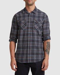0 Treets Long Sleeve Shirt Grey R372190 RVCA