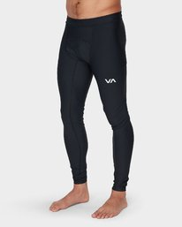0 Va Compression Pant Black R381271 RVCA