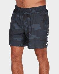 0 VA 16 inch Tech Shorts Camo R381326 RVCA