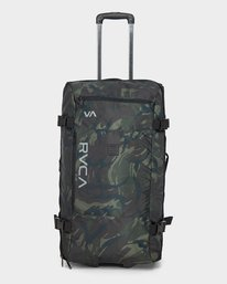 0 Eastern Large Roller Travel Bag Camo R381455 RVCA