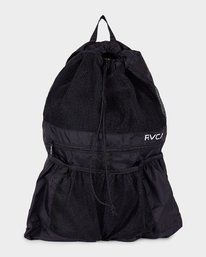 0 Drawcord Backpack Black R382452 RVCA