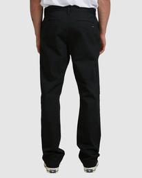 2 Weekend Stretch Pants Black R383273 RVCA