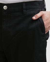 3 Weekend Stretch Pants Black R383273 RVCA
