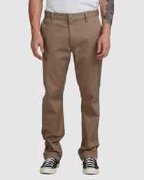 1 Weekend Stretch Pants Green R383273 RVCA
