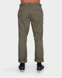2 Weekend Stretch Pants Green R383273 RVCA