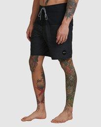 "0 Curren Boardshorts 18"" Black R383411 RVCA"