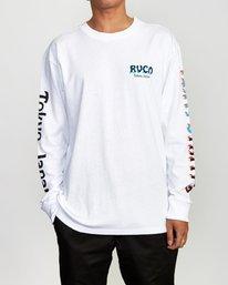 0 Matty's Patty's Long Sleeve Tokyo T-Shirt  R391096 RVCA