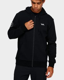 0 Sideline Hoodie Black R391152 RVCA