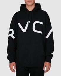 0 Fake Rvca Hoodie Black R391155 RVCA