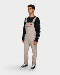 0 Smith Street Overall Pants Green R391279 RVCA