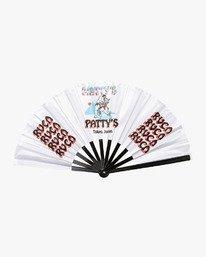 0 Matty's Patty's Tokyo Fan White R391610 RVCA