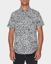 0 Gerrard Short Sleeve Shirt White R393181 RVCA