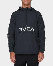 0 Adapter Anorak Jacket Black R393439 RVCA