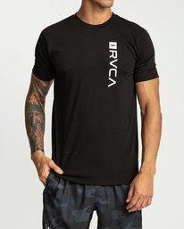 0 RVCA Revert Short Sleeve Black R394042 RVCA