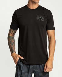 0 Defer Chest Short Sleeve Black R394045 RVCA