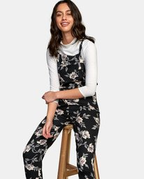 Rainer - Floral Dungarees for Women  R3ONRCRVW9