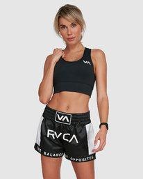 0 Rvca Muay Thai Short Black R405312 RVCA