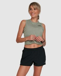0 Womens Yogger Stretch Short Black R405313 RVCA