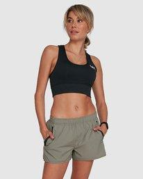 0 Womens Yogger Stretch Short Green R405313 RVCA