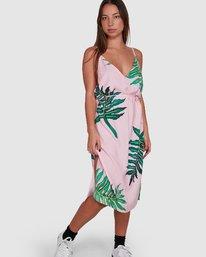 0 PALMER DRESS Pink R405754 RVCA