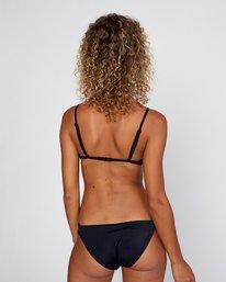 0 Solid Full Bikini Bottom Black R406861 RVCA