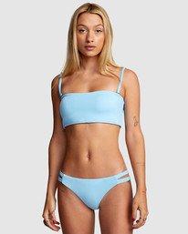 2 Solid Full Bikini Bottom Blue R406861 RVCA