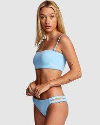 3 Solid Full Bikini Bottom Blue R406861 RVCA
