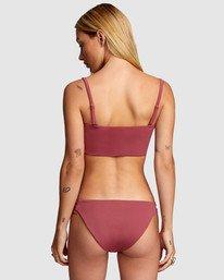 1 Solid Full Bikini Bottom Purple R406861 RVCA