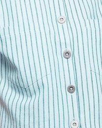 4 Jefferson Short Sleeve Shirt Green R407181 RVCA